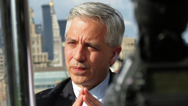 Álvaro García Linera, vicepresidente de Bolivia - Sputnik Mundo