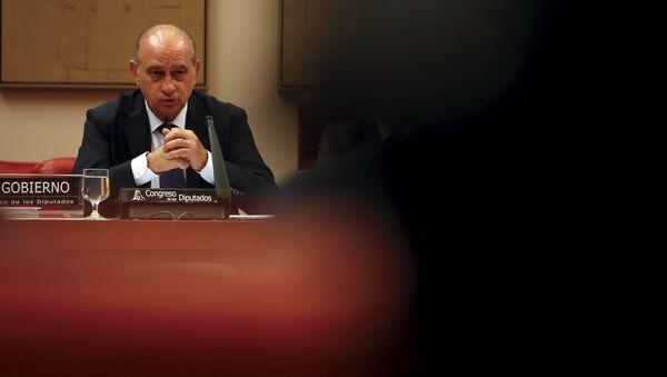 Jorge Fernández Díaz, ministro del Interior de España - Sputnik Mundo