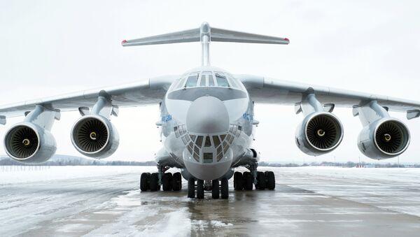 Avión de transporte militar IL-76MD-90A - Sputnik Mundo