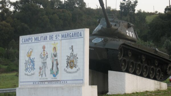 Campo Militar de Santa Margarida - Sputnik Mundo