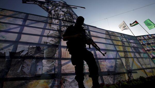 Militante del movimiento Hamás (archivo) - Sputnik Mundo