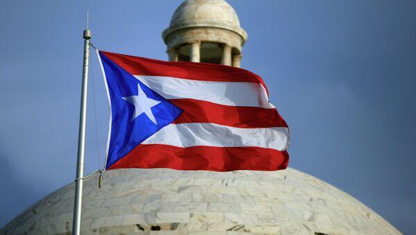Bandera de Puerto Rico (archivo) - Sputnik Mundo