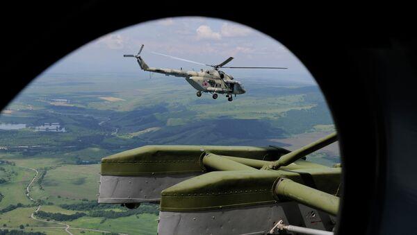 Helicóptero de combate Mi-8MTV-5 - Sputnik Mundo