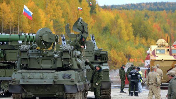 Feria militar internacional Russia Arms Expo 2013 - Sputnik Mundo