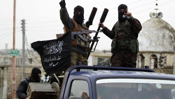 Radicales del grupo terrorista Frente Al Nusra - Sputnik Mundo