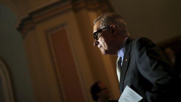 Harry Reid, líder de la fracción del Partido Demócrata en el Senado de EEUU - Sputnik Mundo