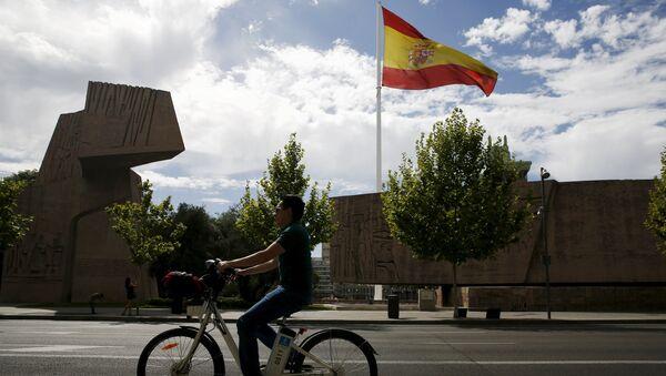 Bandera de España (archivo) - Sputnik Mundo