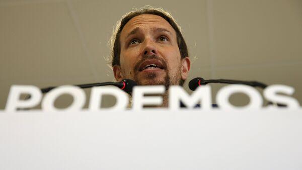 Pablo Iglesias, secretario general de Podemos - Sputnik Mundo
