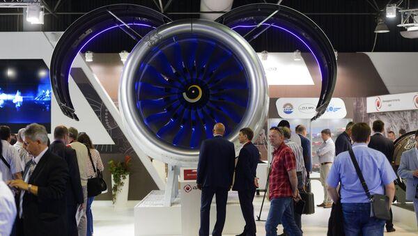 La inauguración del salón aeroespacial MAKS-2015 (archivo) - Sputnik Mundo