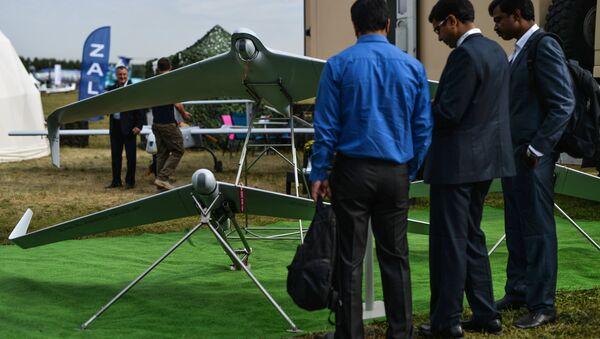 Dron Zala 421-16E5 en Salón Aeroespacial MAKS 2015 - Sputnik Mundo