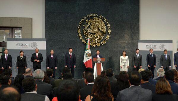 Nuevo gabinete del presidente de México, Enrique Peña Nieto - Sputnik Mundo