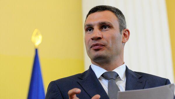 Vitali Klichkó, el alcalde de Kiev - Sputnik Mundo