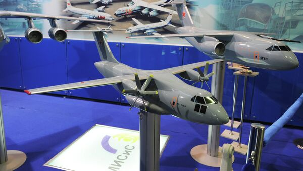 Avión de transporte militar Il-112 - Sputnik Mundo