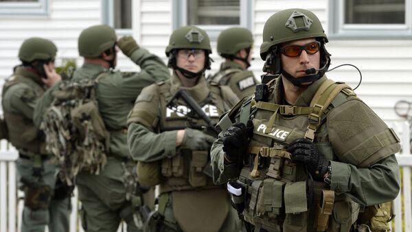 Fuerzas especiales norteamericanas SWAT - Sputnik Mundo