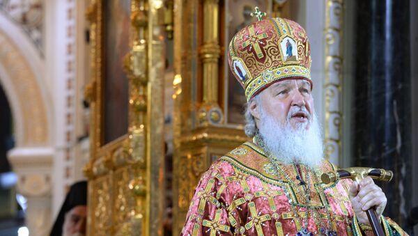 Patriarca de Moscú y toda Rusia Kiril - Sputnik Mundo