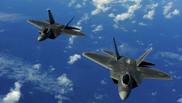 Cazas de F-22 Raptor - Sputnik Mundo