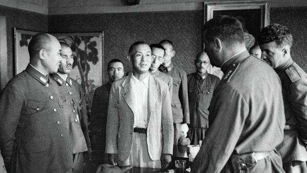 Capitulación de Japón (archivo) - Sputnik Mundo