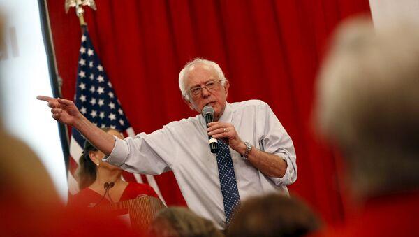 Bernie Sanders, candidato Demócrata para Presidente de los Estados Unidos - Sputnik Mundo