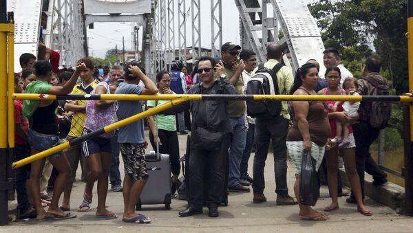 Embajador de Colombia reclama a la OEA alternativas para resolver conflicto con Venezuela - Sputnik Mundo