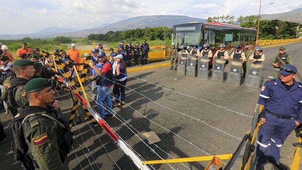 Venezuela rechaza tratar su diferendo con Colombia en la OEA - Sputnik Mundo