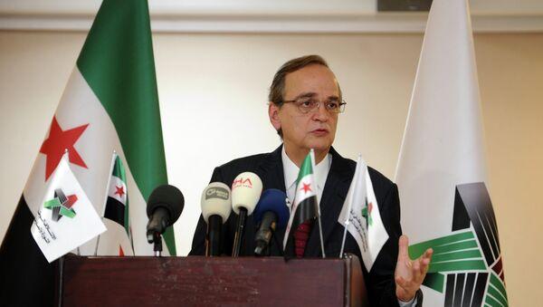 Hadi Al-Bahra, líder de la Coalición Nacional Siria - Sputnik Mundo