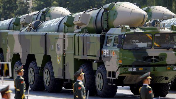 Misil balístico antibuque de medio alcance Dong Feng 21D (DF-21D) - Sputnik Mundo
