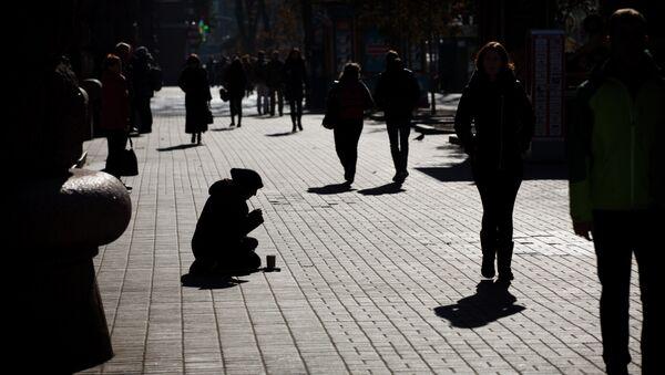 El desempleo en Ucrania alcanza su máximo histórico - Sputnik Mundo