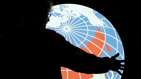 Logo de la agencia rusa Rossiya Segodnya - Sputnik Mundo