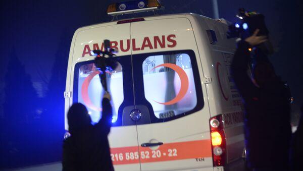 Ambulancia en Turquía - Sputnik Mundo