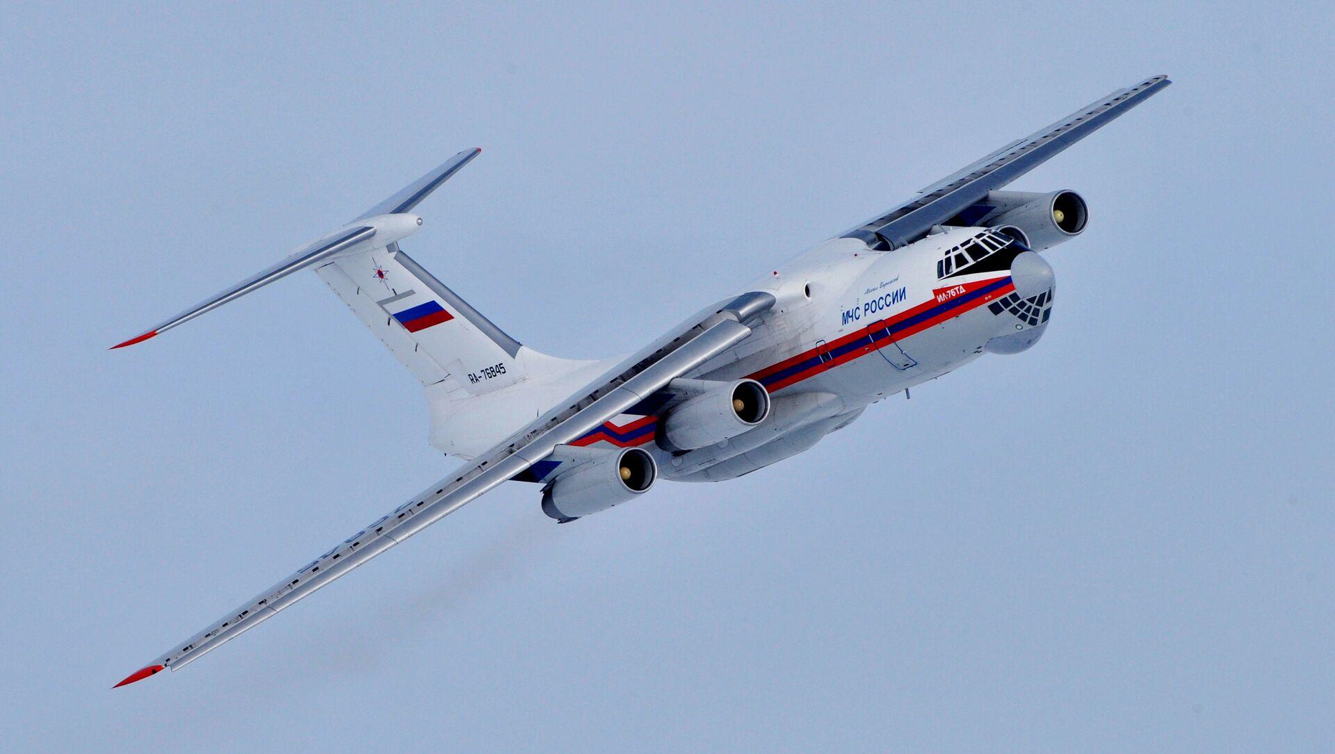 Avión Il-76 - Sputnik Mundo, 1920, 04.02.2021