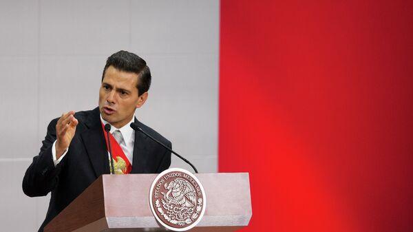 El presidente de México, Enrique Peña - Sputnik Mundo
