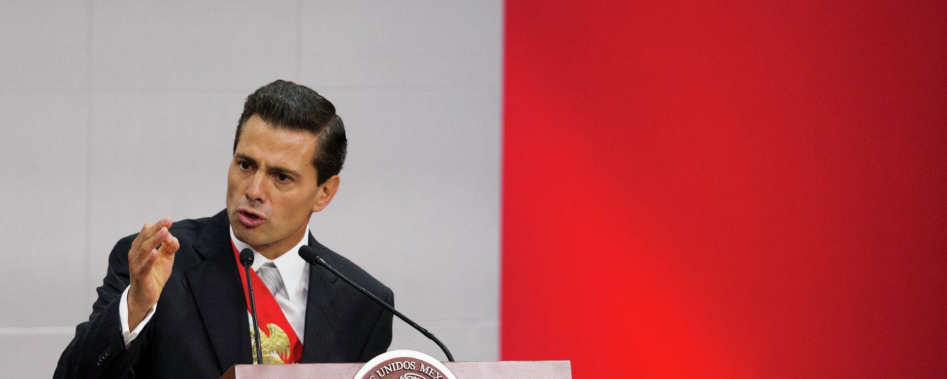 El presidente de México, Enrique Peña - Sputnik Mundo, 1920, 30.11.2020