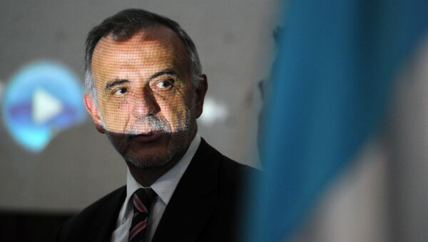 The Chief of the International Commission Against Impunity in Guatemala (CICIG), Colombian Ivan Velasquez, attends the forum The Social Cost of Corruption in Guatemala City on August 31, 2015. - Sputnik Mundo
