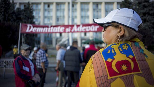 Protestas en Chisinau - Sputnik Mundo