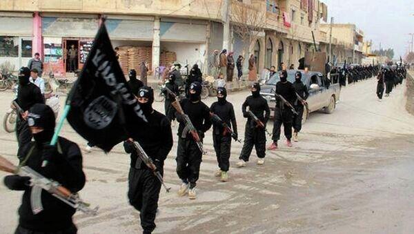 Militantes del grupo Estado Islámico - Sputnik Mundo