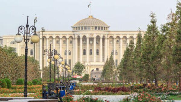 Palacio presidencial en Dusambé, capital de Tayikistán - Sputnik Mundo