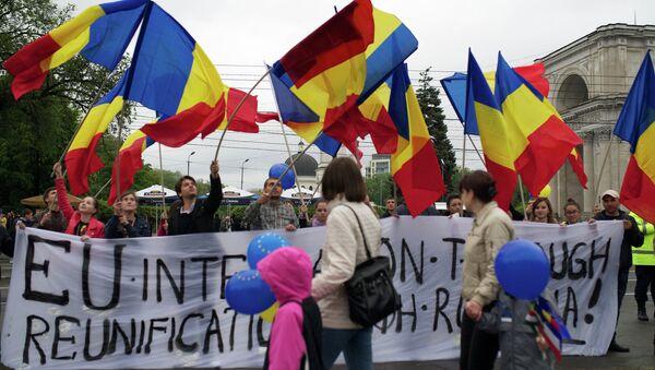 Protestas en Moldavia - Sputnik Mundo