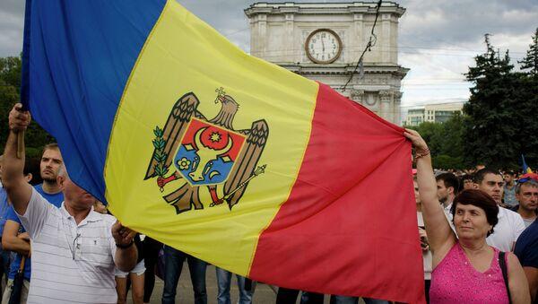 La bandera de Moldavia - Sputnik Mundo
