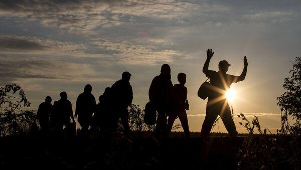 Refugiados en Europa - Sputnik Mundo