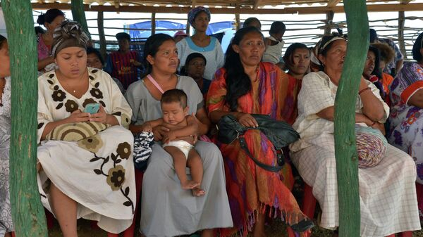 Indígenas de la etnia binacional wayúu - Sputnik Mundo