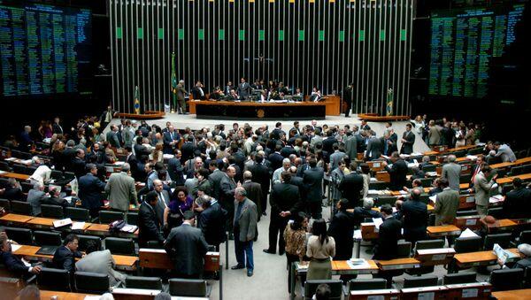Congreso Nacional de Brasil (archivo) - Sputnik Mundo