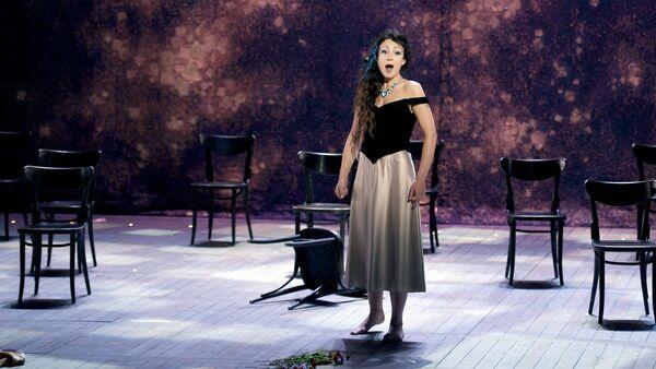Irina Lungu interpreta el papel de Violetta en la ópera La Traviata (archivo) - Sputnik Mundo