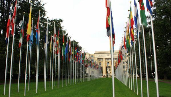 Sede de la ONU en Ginebra - Sputnik Mundo