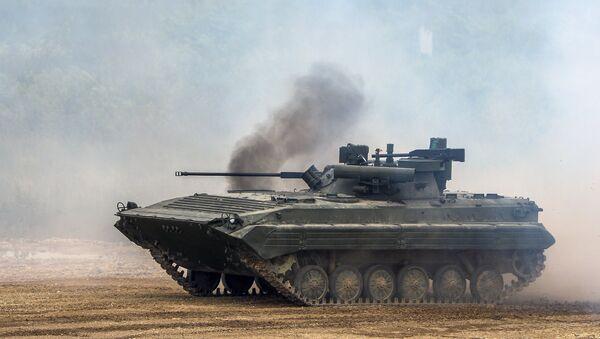 Vehículo de combate de infantería de Rusia BMP-3 - Sputnik Mundo