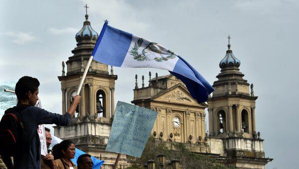 Protesta contra la corrupción en la Ciudad de Guatemala (archivo) - Sputnik Mundo