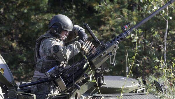 Ejercicios multinacionales en Letonia movilizan a más de 2.000 militares - Sputnik Mundo