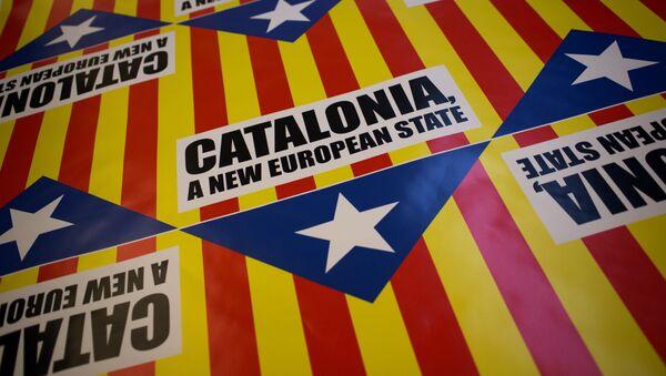 El eslogan que dice Cataluña, un estado nuevo de Europa - Sputnik Mundo