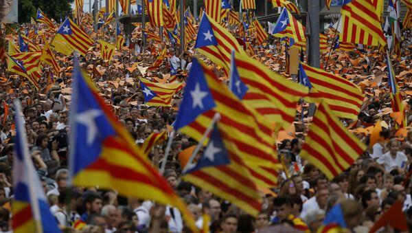 Las banderas de Cataluña - Sputnik Mundo