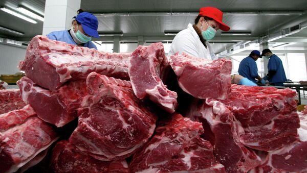 Carne (imagen referencial) - Sputnik Mundo