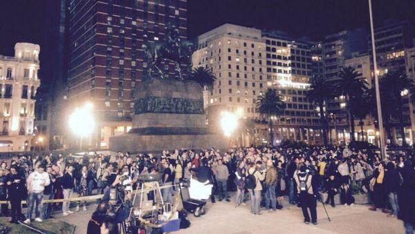 Protesta de cineastas uruguayos - Sputnik Mundo